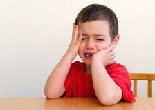Gridare bambino Fotografia Stock