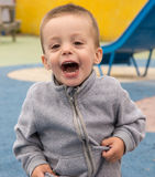 Gridare del bambino Fotografia Stock