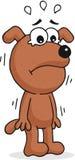 Gridare del cane royalty illustrazione gratis