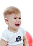 Gridare del neonato immagine stock libera da diritti