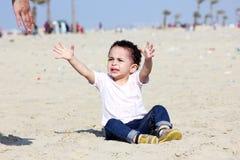 Gridare neonata araba fotografie stock libere da diritti