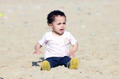 Gridare neonata araba fotografia stock