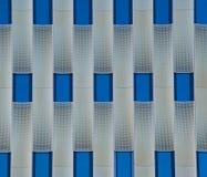 Gridded facade Stock Photo