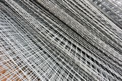 Gridding construction materials Royalty Free Stock Photography
