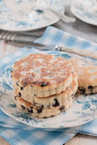 Griddle cakes or Welsh cakes Royalty Free Stock Images