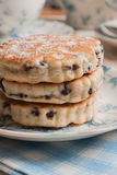 Griddle cakes or Welsh cakes Stock Images
