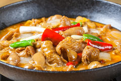 Griddle Pork Intestines. The Griddle Pork Intestines, Hunan cuisine of Chinese food Stock Photography