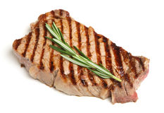 Griddled Sirloin Beef Steak Royalty Free Stock Photos