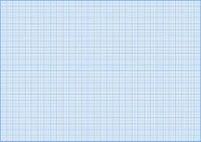 Gride bleu de millimètre Photo stock