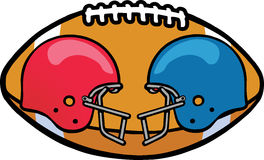 Gridiron Ball Royalty Free Stock Photo