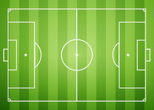 Gridiron. Football field, excellent vector illustration, EPS 10 Royalty Free Stock Photo