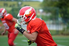 Gridiron Football, Protective Gear In Sports, Team Sport, Football Helmet Royalty Free Stock Images