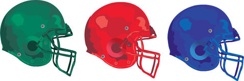Gridiron Helmet Stock Photos
