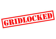 GRIDLOCKED Royalty Free Stock Images