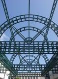 Gridwork d'acciaio Immagini Stock