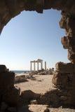 Grieche-Ruinen Lizenzfreie Stockfotografie