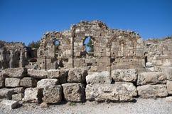 Grieche-Ruinen Stockfoto