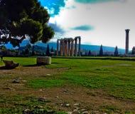 Grieche-Ruinen stockfotografie