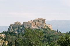 Griechenland, Akropolis. stockbild
