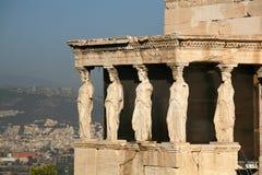 Griechenland, Athen, Akropolis Lizenzfreies Stockfoto
