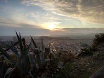 Griechenland athen Odeon von Herodes Atticus stockbild