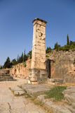 Griechenland. Delphi. Archäologische Zone Stockfotos