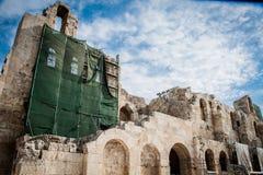 Griechenland, die Akropolis von Athen, alte Zitadelle gelegen auf einem e stockfotos