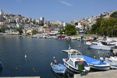 Griechenland, Eastmacedonia, Kavala Lizenzfreie Stockbilder