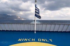 Griechenland entlang der Küste der Insel von Karpathos Stockfoto