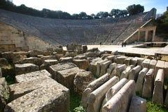 Griechenland, Epidaurus Stockbilder