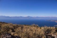 Griechenland-Hügelblume Stockbild