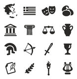 Griechenland-Ikonen vektor abbildung