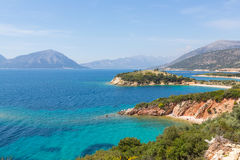 Griechenland-Küste Lizenzfreie Stockbilder