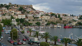 Griechenland-Küste und -landschaften Lizenzfreies Stockbild