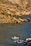 Griechenland, Karpathos-Insel Finiki-Dorf Stockfoto
