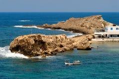 Griechenland, Karpathos-Insel Lefkos-Dorf Lizenzfreies Stockbild