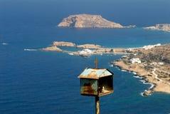 Griechenland, Karpathos-Insel Lefkos-Dorf Stockfoto