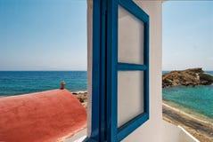 Griechenland, Karpathos-Insel Lefkos-Dorf Stockfotografie