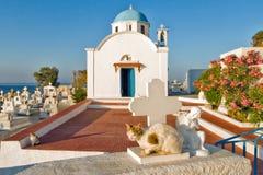 Griechenland, Karpathos-Insel Pigadia-Stadt Lizenzfreie Stockbilder