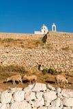 Griechenland, Karpathos-Insel Pigadia-Stadt Lizenzfreies Stockbild