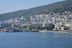 Griechenland, Kavala Stockbild