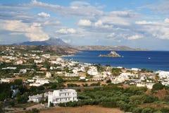 Griechenland. Kos Insel. Schacht von Kefalos Stockbild