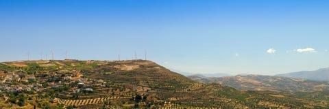 Griechenland-Landschaft Stockfotografie
