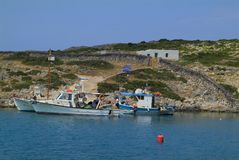 Griechenland, Levitha-Insel Stockfotos
