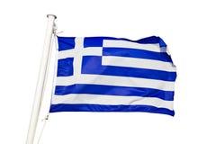 Griechenland-Markierungsfahne Lizenzfreies Stockbild