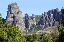 Griechenland, Meteora Stockbild