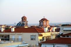 Griechenland Morgen in Nea Kallikratia Lizenzfreies Stockbild