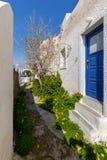 Griechenland Mykonos Typische Architektur Lizenzfreie Stockfotografie