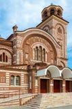 Griechenland, Nea Kallikratia, Kirche von St. Paraskeva Lizenzfreies Stockbild