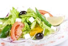 Griechenland-Salat Lizenzfreies Stockfoto